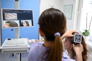 Michaela Budáčová - trichologické vyšetrenie Tricholab